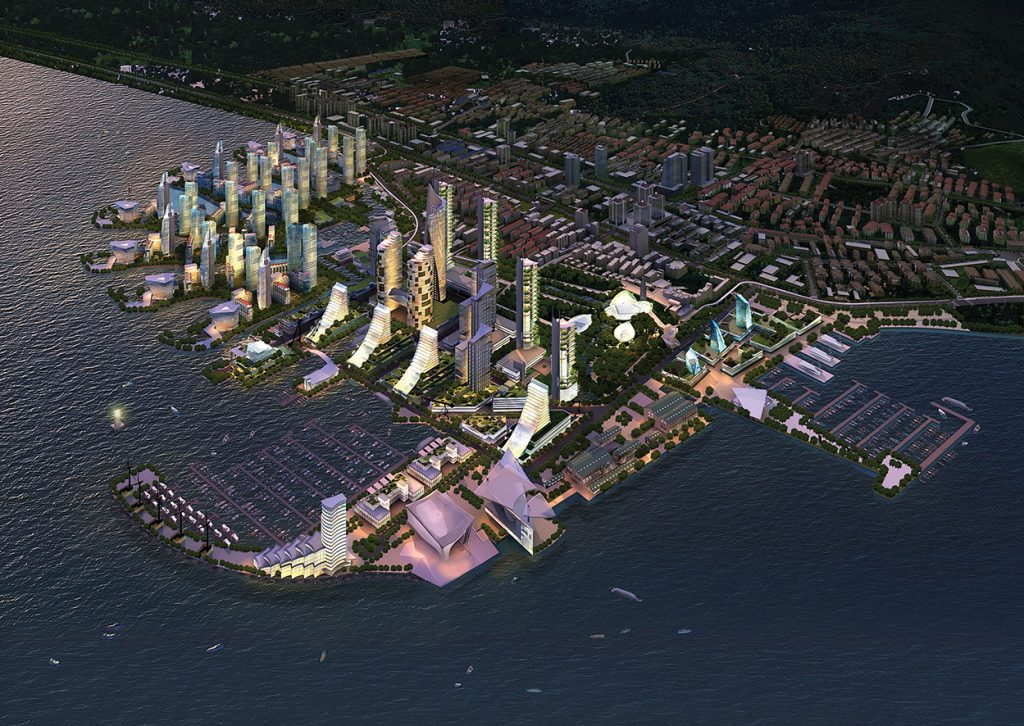 Weihai Waterfront Master Plan