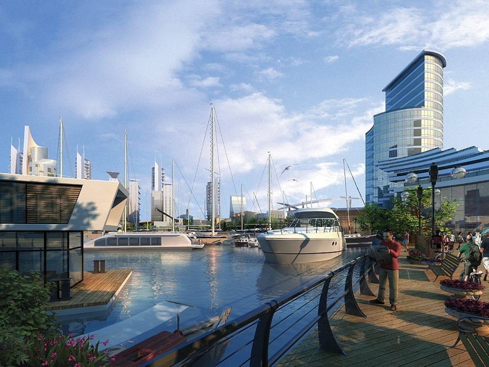 Weihai Waterfront Master Plan