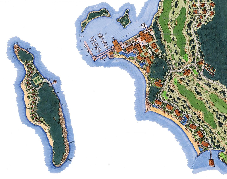 EC88 Hon Thi Island_illustrative_feature area_resortEKISTICS