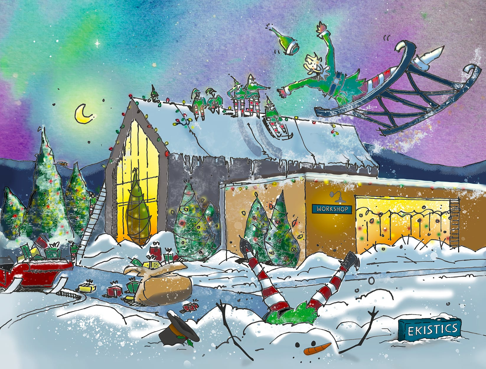 Christmas 2018 EKISTICS