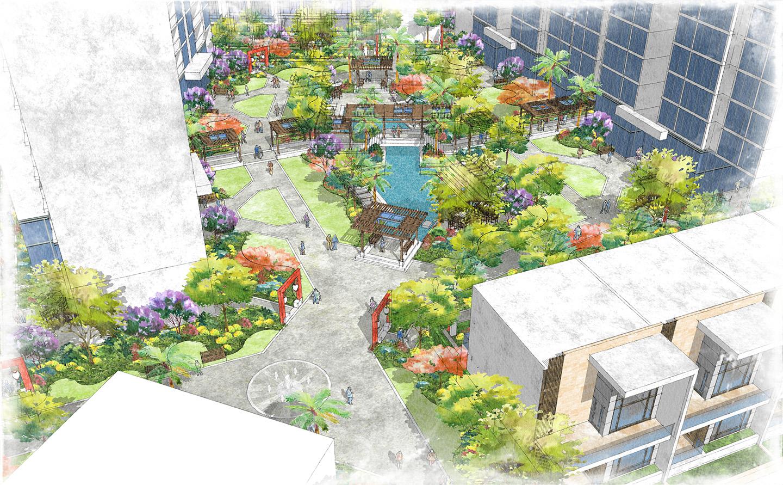 Changde_Plaza-Rendering_EKISTICS