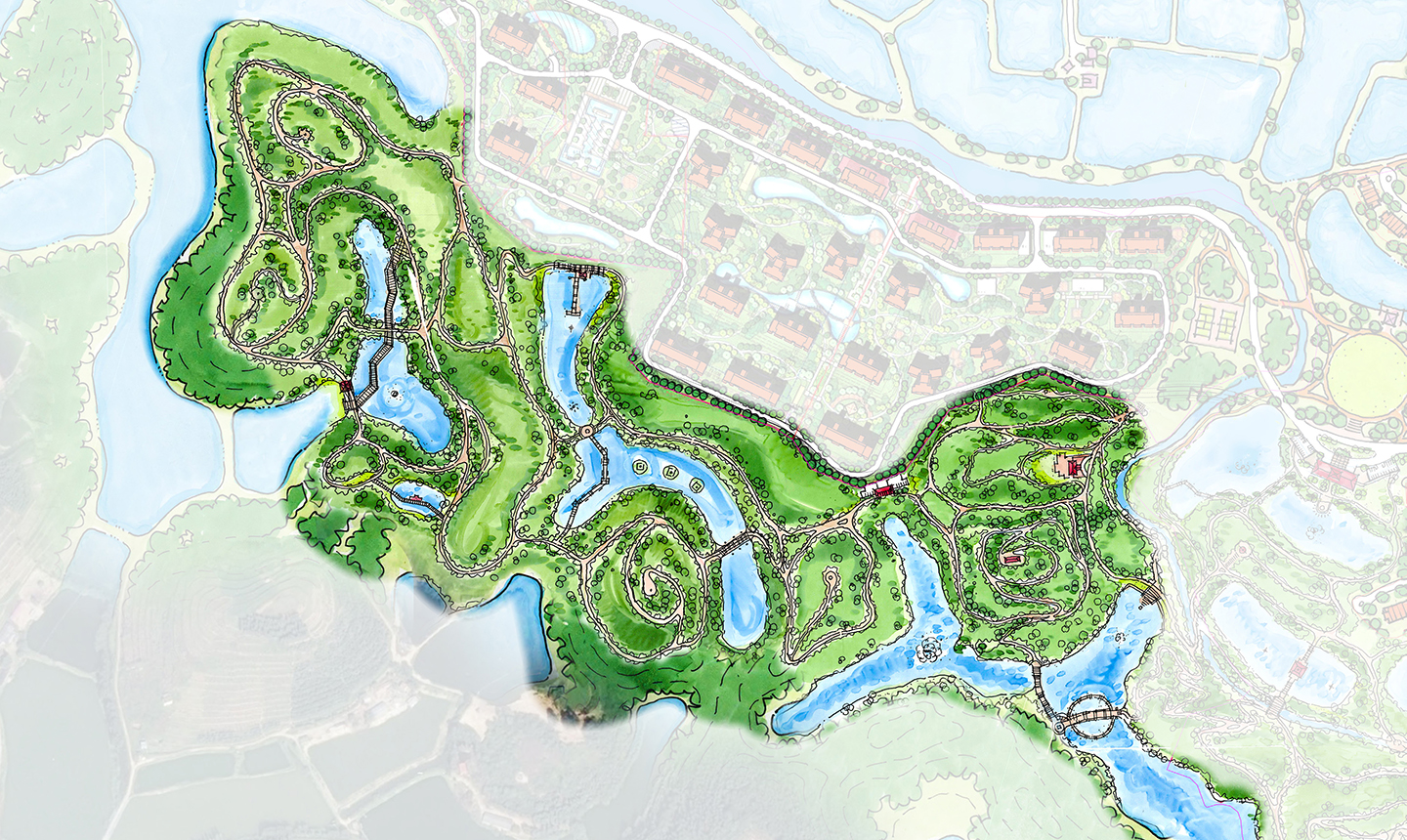 Greenland Zhaoqing_eco park conservation area_EKISTICS