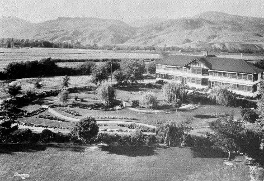 Tranquille Sanatorium west pavilion - UNK DATE