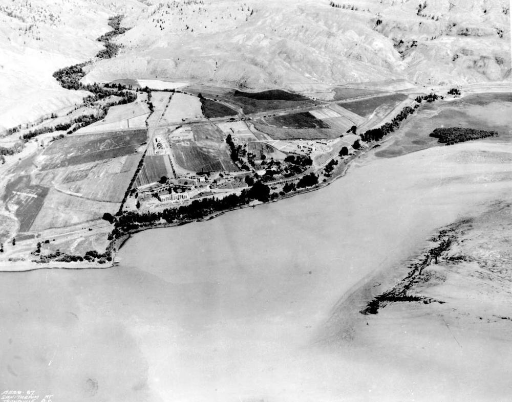 Aerial view of Tranquille-1928